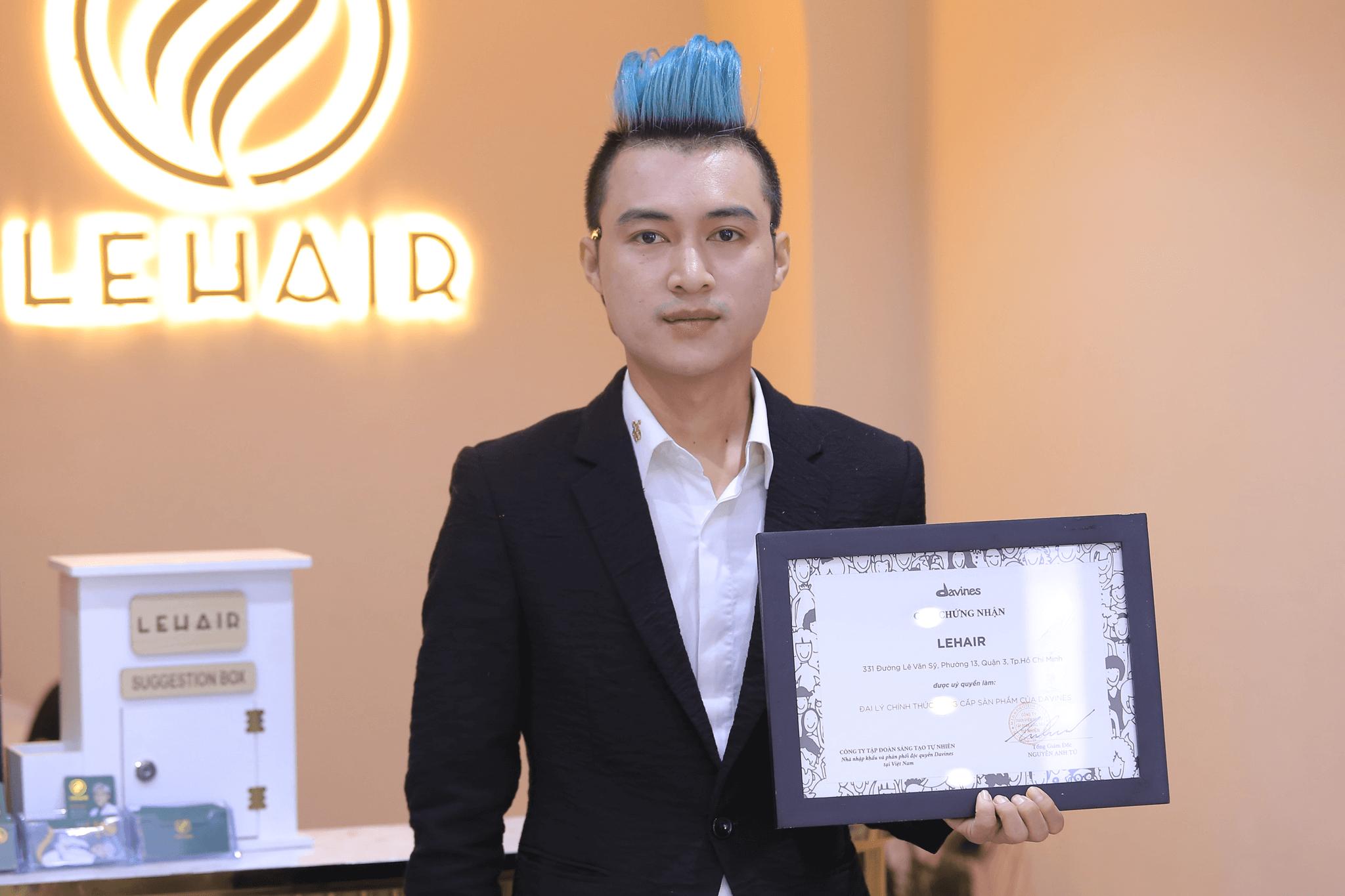 LeHair Professional được ủy quyền làm Đại Lý Chính Thức Cung Cấp Các Sản Phẩm Của Davines bởi Công ty Tập Đoàn Sáng Tạo Tự Nhiên - Nhà nhập khẩu và phân phối độc quyền Davines tại Việt Nam