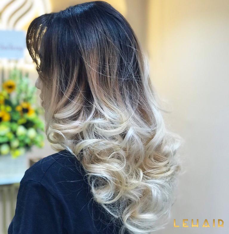 tóc nhuộm balayage hot 2020