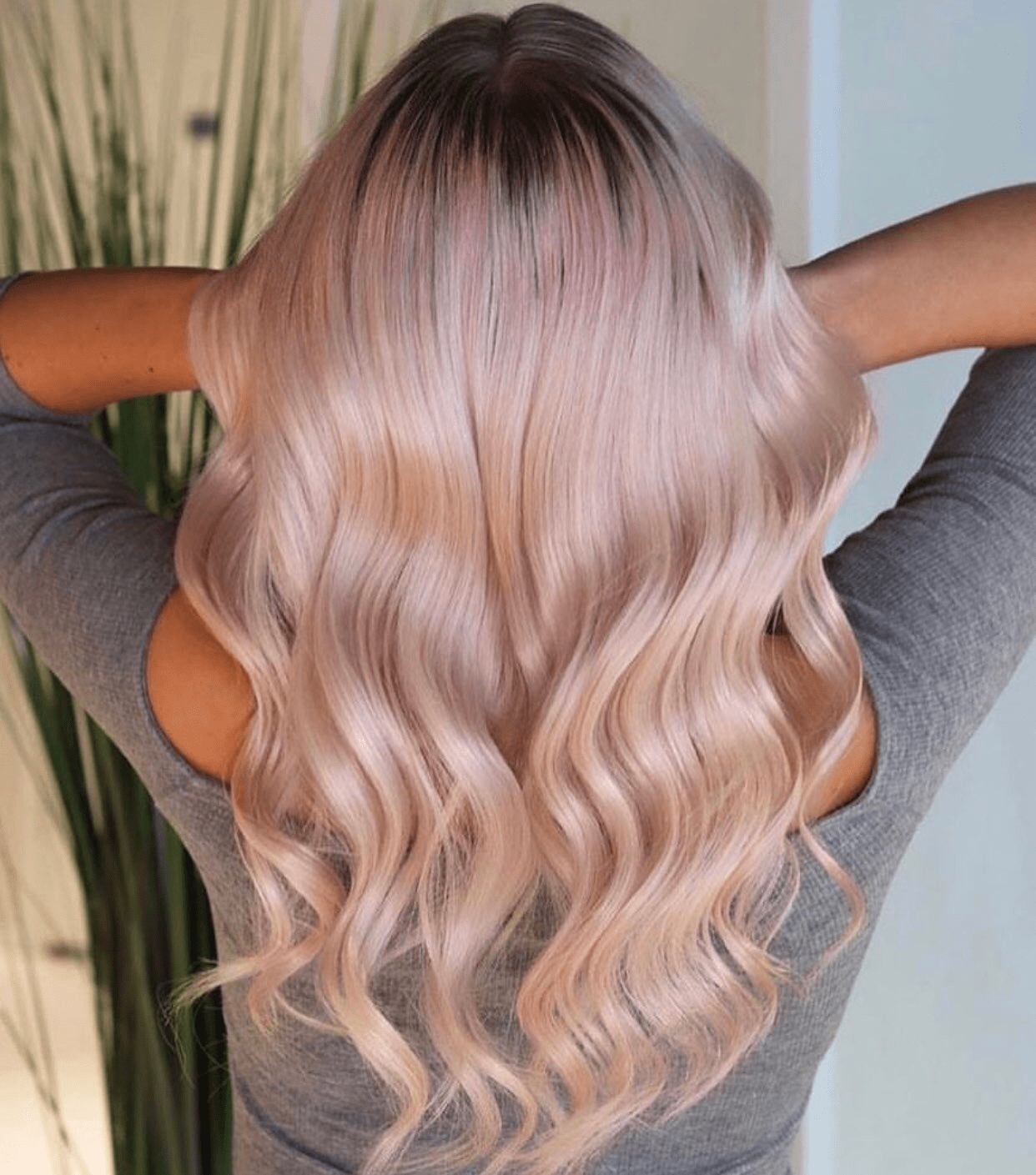 tóc dùng Dưỡng Tóc Olaplex No.3 Hair Perfector