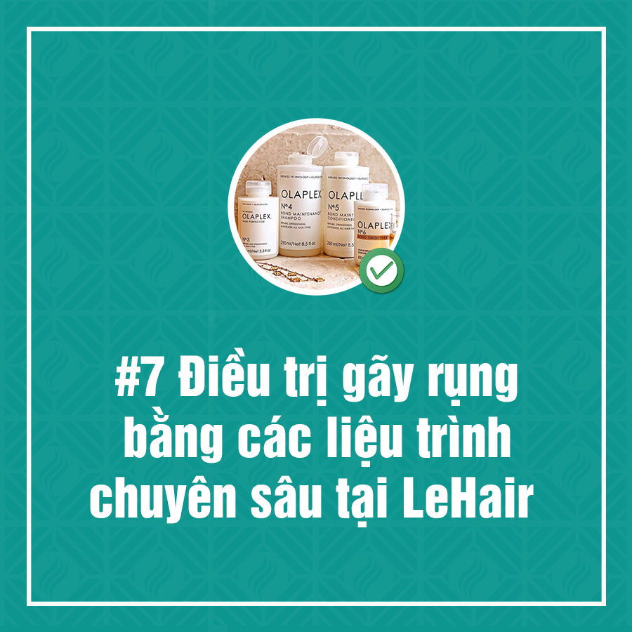 những cách giúp tóc giảm gãy rụng